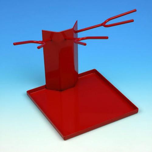 DeVilbiss Gravity Gun Stand - Holds 3 Spray Guns-0