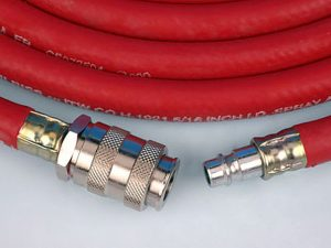 10 Metre Length Air Hose with QD Male and Female Connections-0