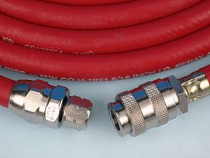 10 Metre Length Air Hose with 1/4BSP Female & QD Connections-0