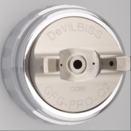 DeVilbiss C2 Air Cap & Retaining Ring for GFG and JGA Pro-0