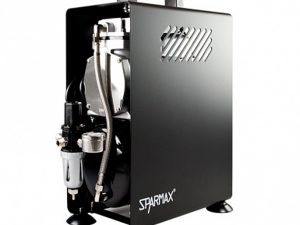 Sparmax 610H Professional Single Piston Airbrush Compressor (2.5 Litre Air Tank)-0
