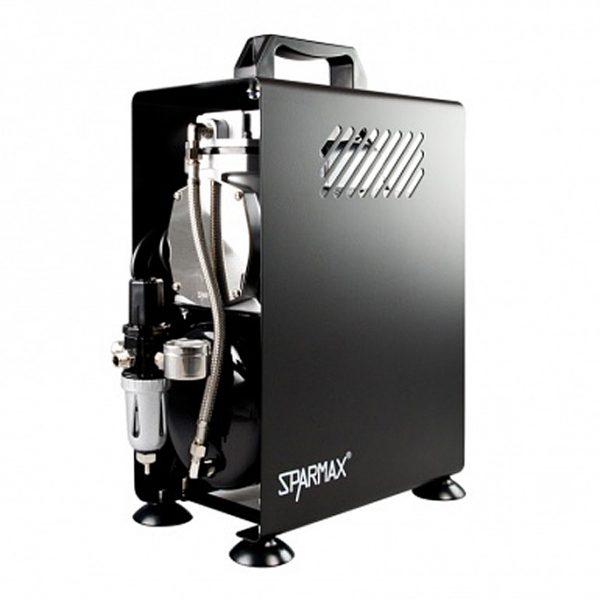 Sparmax 610H Professional Single Piston Airbrush Compressor (2.5 Litre Air Tank)-0