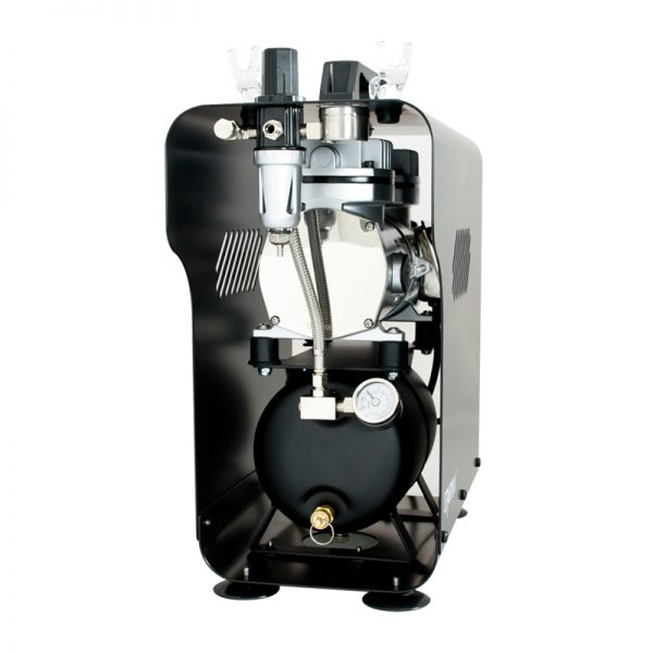 Sparmax 620X Professional Twin Piston Airbrush Compressor (2.5 Litre Air Tank)-409