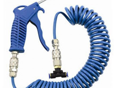 Air Blower Kit with Coiled Hose and QD Fittings-0
