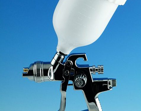 HVLP Gravity Feed Spray Gun - 1.4mm Nozzle-0