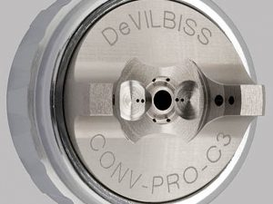 DeVilbiss C3 Air Cap & Retaining Ring for JGA Pro-0