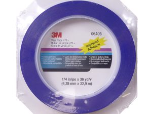 3M Blue Fine Line Masking Tape 6mm x 32.9m Roll-0