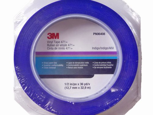 3M Blue Fine Line Masking Tape 12mm x 32.9m Roll-0