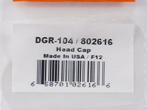 DeVilbiss DAGR Head Cap-0