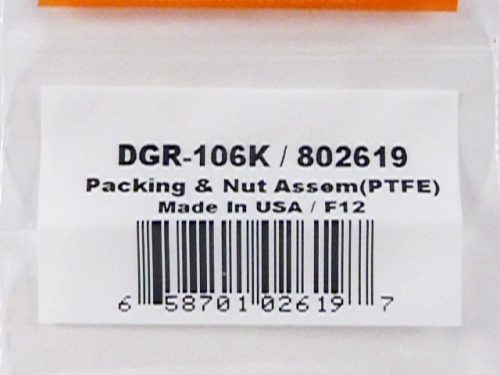 DeVilbiss DAGR Needle Packing and Nut Assembly-0