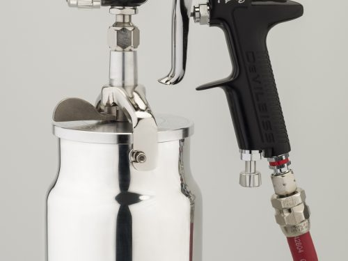 DeVilbiss GTi Pro High Performance Suction Feed Spray Gun-0