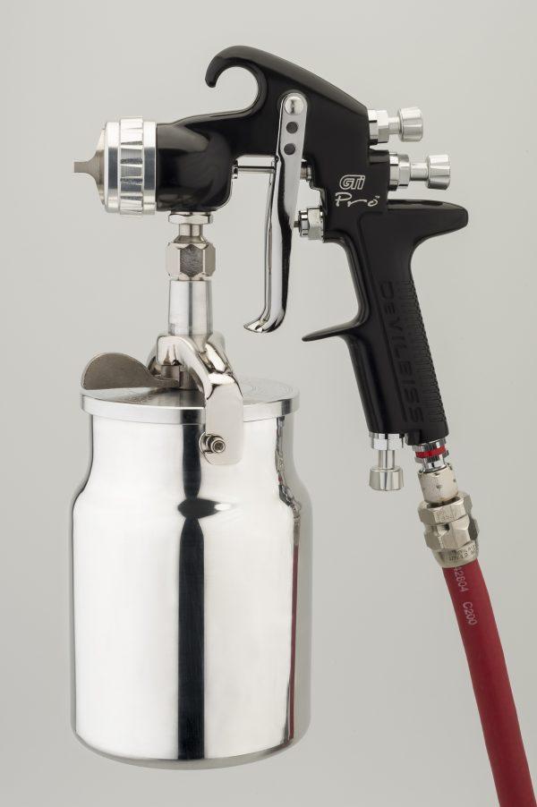 DeVilbiss GTi Pro High Performance Suction Feed Spray Gun-0