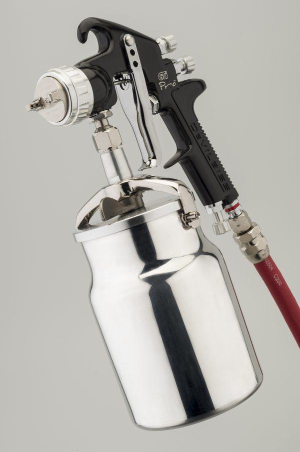 DeVilbiss GTi Pro High Performance Suction Feed Spray Gun-899