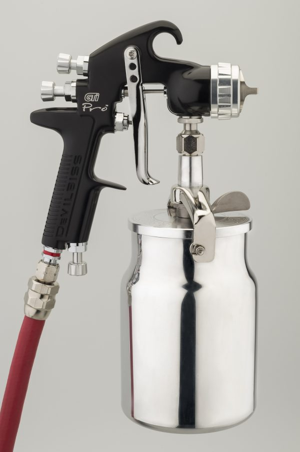 DeVilbiss GTi Pro High Performance Suction Feed Spray Gun-900
