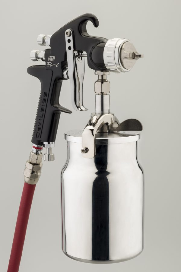 DeVilbiss GTi Pro High Performance Suction Feed Spray Gun-901