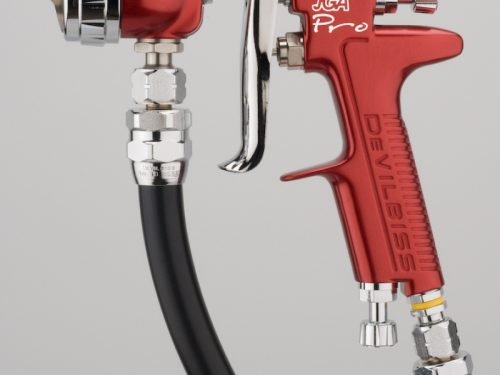 DeVilbiss JGA Pro Pressure Feed Spray Gun-0