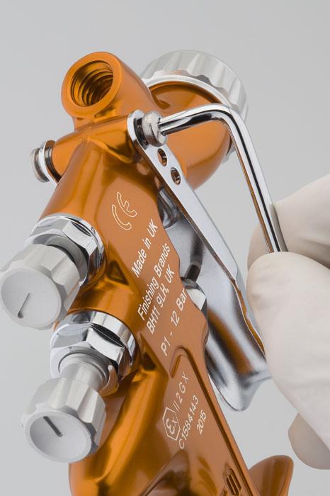 DeVilbiss SRi Pro Lite & Micro Gravity Feed Spray Guns-624