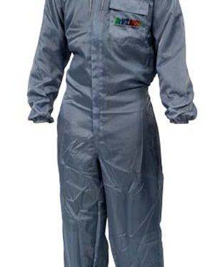 DeVilbiss Clean - Pro Painters Overalls (Front View)