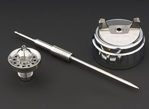 DeVilbiss PRi Pro Lite Gravity Air Cap, Fluid Tip and Needle Kit-0
