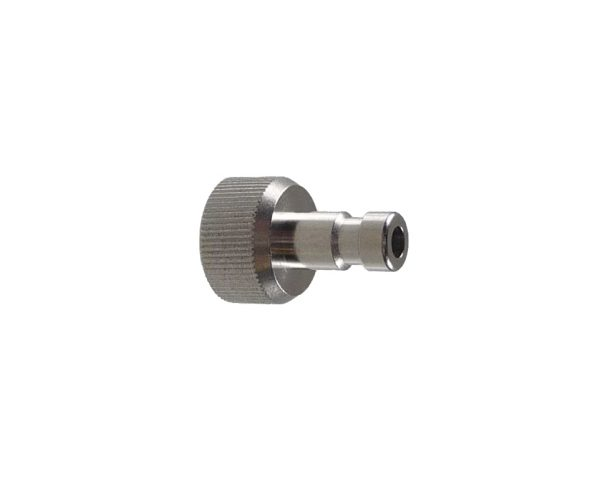 "Harder & Steenbeck Quick Release Airbrush Tail - 1/8""BSP - Chrome-0"