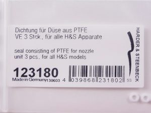 PTFE Seals for Harder & Steenbeck Nozzles (Pack of Three)-0