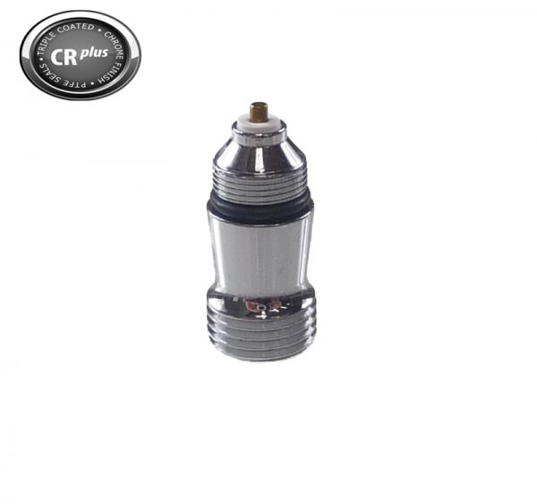 Complete Chrome Air Valve Assembly for CRplus Airbrush-0