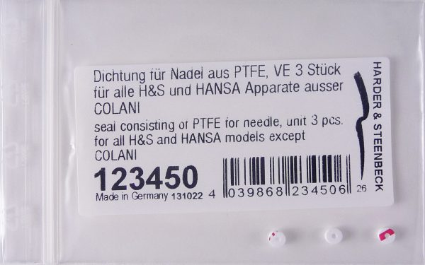 PTFE Needle Seal (Pack of Three)-0