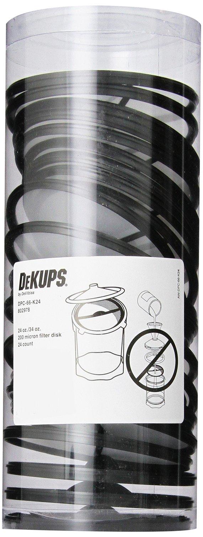 DeKups Disc Filters - 200 Micron - 24/34oz (Kit of 24)-0